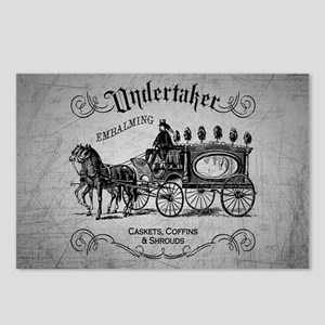 Undertaker Vintage Style Postcards (Package of 8)