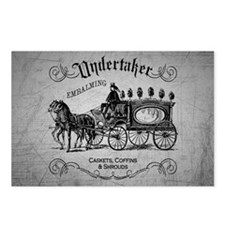 Undertaker Vintage Style Postcards (Package of 8)