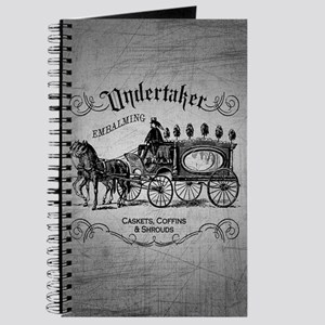 Undertaker Vintage Style Journal