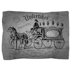 Undertaker Vintage Style Pillow Sham