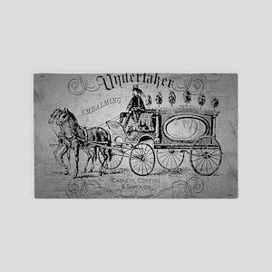 Undertaker Vintage Style Area Rug