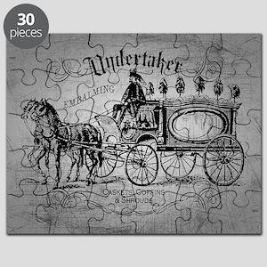 Undertaker Vintage Style Puzzle
