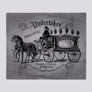Undertaker Vintage Style Throw Blanket