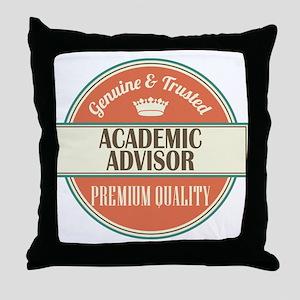 Academic Advisor Throw Pillow