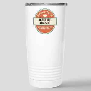 Academic Advisor Stainless Steel Travel Mug