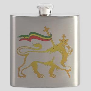 KING OF KINGZ LION Flask