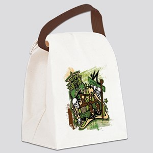ghost ride the whip Canvas Lunch Bag
