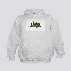 oregon trees logo Sweatshirt