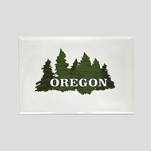 oregon trees logo Magnets