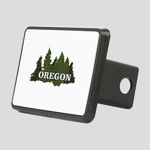 oregon trees logo Rectangular Hitch Cover