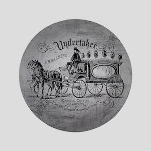 Undertaker Vintage Style Button
