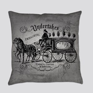 Undertaker Vintage Style Everyday Pillow