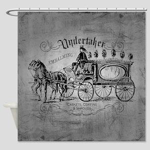 Undertaker Vintage Style Shower Curtain