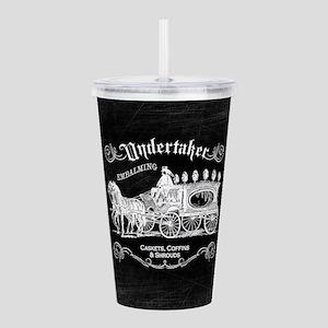 Undertaker Vintage Style Acrylic Double-wall Tumbl