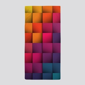 Colorblock Beach Towel