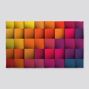 Colorblock Area Rug
