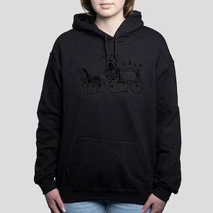 Undertaker Vintage Style Women's Hooded Sweatshirt