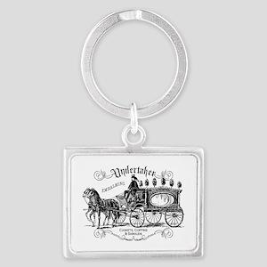 Undertaker Vintage Style Landscape Keychain
