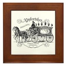 Undertaker Vintage Style Framed Tile