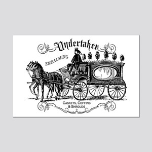 Undertaker Vintage Style Mini Poster Print