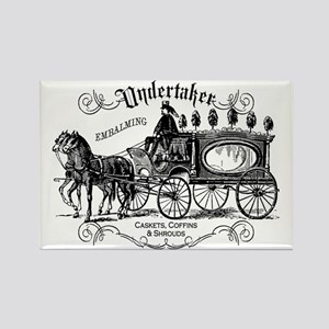 Undertaker Vintage Style Rectangle Magnet