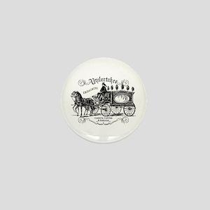 Undertaker Vintage Style Mini Button