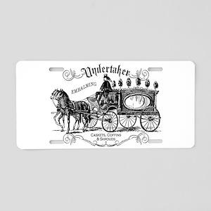 Undertaker Vintage Style Aluminum License Plate
