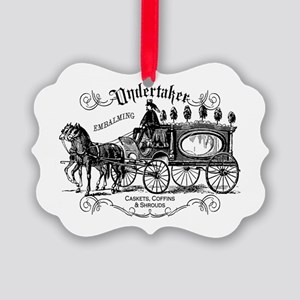 Undertaker Vintage Style Picture Ornament