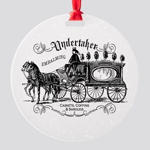 Undertaker Vintage Style Round Ornament