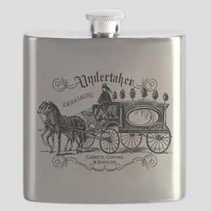 Undertaker Vintage Style Flask