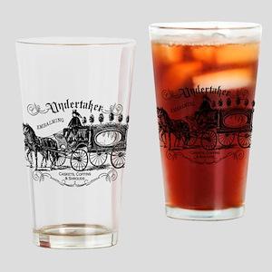Undertaker Vintage Style Drinking Glass