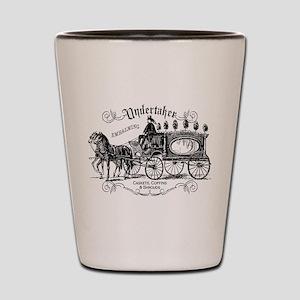 Undertaker Vintage Style Shot Glass