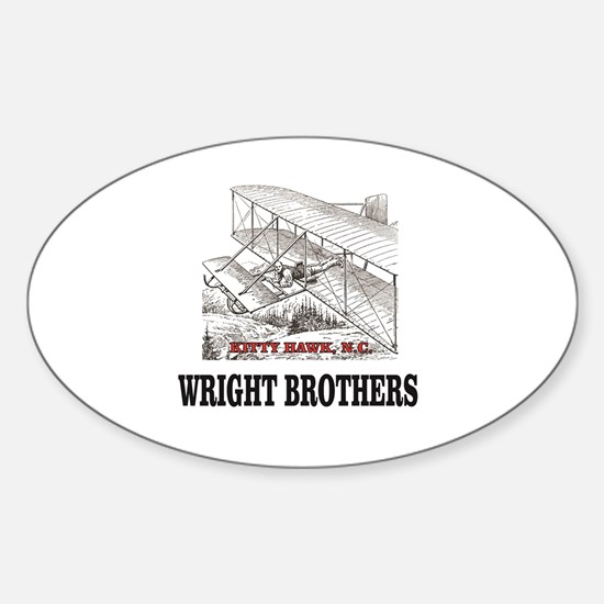 wright brothers kitty hawk Decal