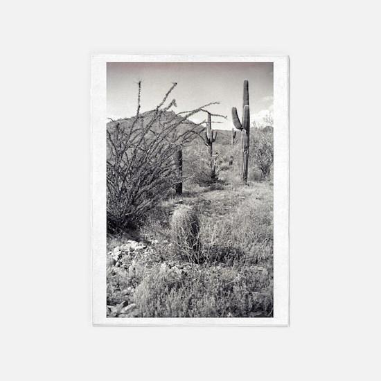 Cowboy Garden Desert 5'x7'Area Rug