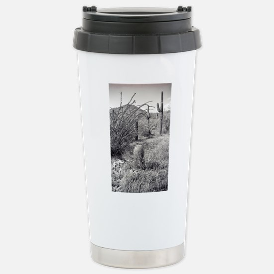 Cowboy Garden Desert Travel Mug
