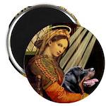 Madonna/Rottweiler Magnet
