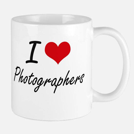 I love Photographers Mugs