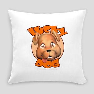 Lucky Dog Everyday Pillow