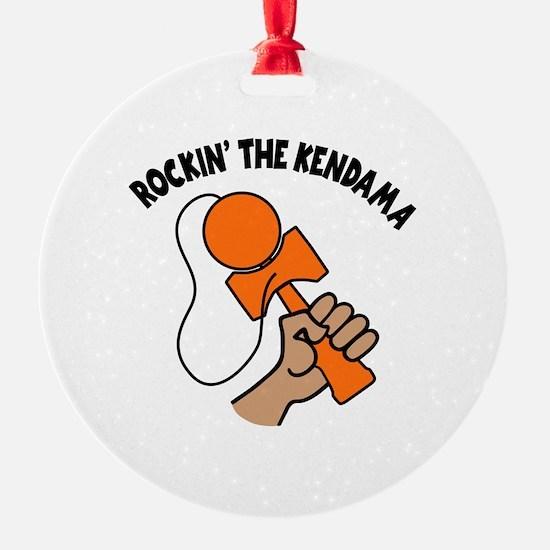 ROCKIN' THE KENDAMA Ornament