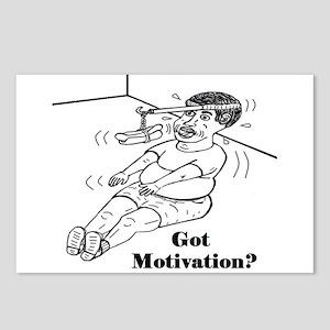 GOT MOTIVATION? Postcards (Package of 8)