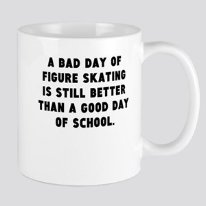 A Bad Day Of Figure Skating Mugs