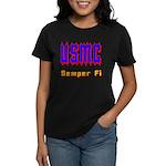 USMC Semper Fi Women's Dark T-Shirt