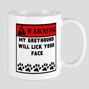 Greyhound Will Lick Your Face Mugs