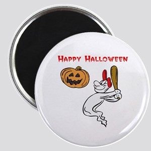 "Ghostly Batter Halloween 2.25"" Magnet (10 pack)"