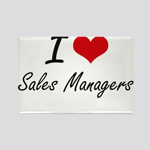 I love Sales Managers Magnets