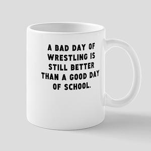 A Bad Day Of Wrestling Mugs