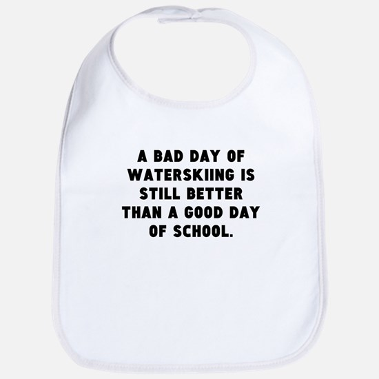 A Bad Day Of Waterskiing Bib