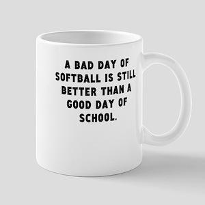 A Bad Day Of Softball Mugs