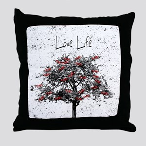 Love Life Throw Pillow