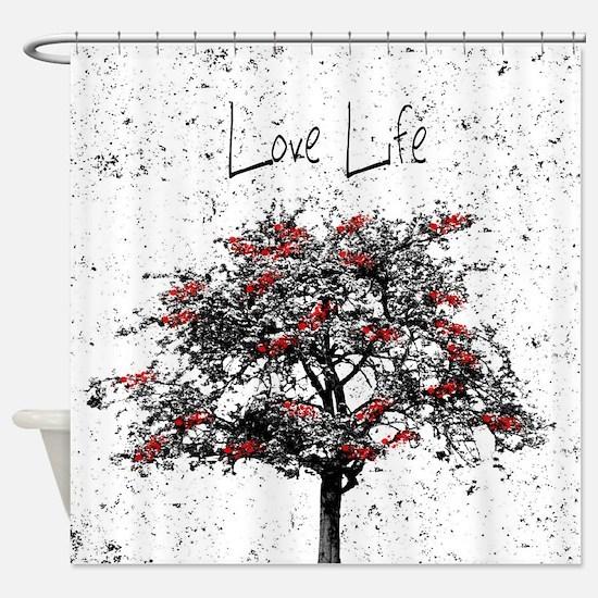 Love Life Shower Curtain